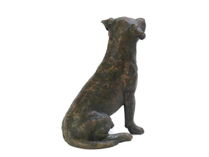 Beautiful figurine Jack Russell Terrier dog urns for pet dog ashes. Can be personalised.